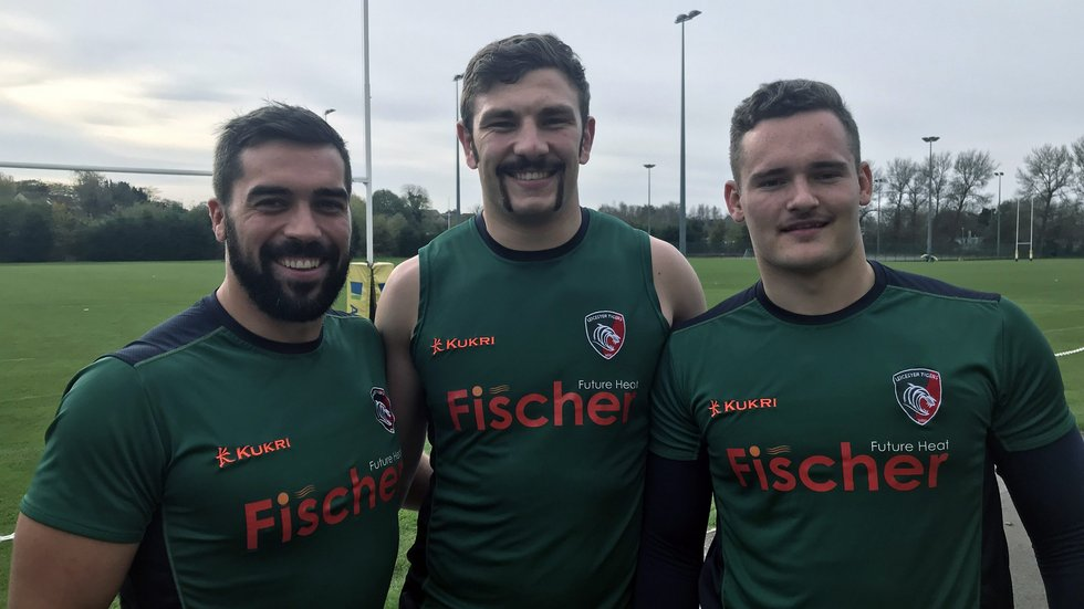 Gareth Owen, Harry Wells and George Worth are part of the Tigers team this Movember