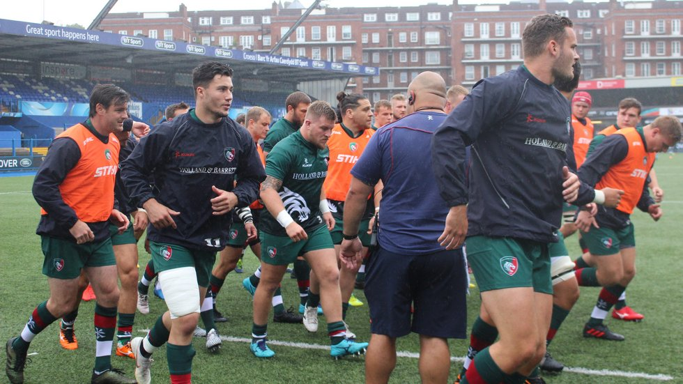 Tigers gave a run-out to 25 members of the squad in the first pre-season fixture at Cardiff on Saturday