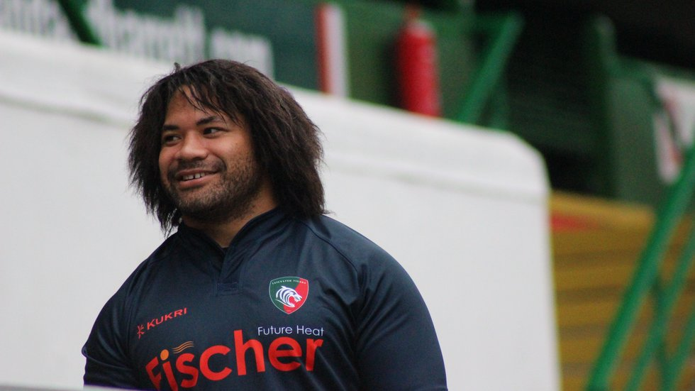 Tatafu Polota-Nau at Welford Road.