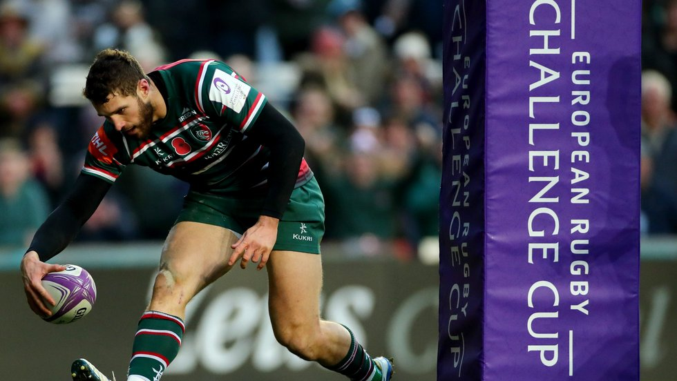Tigers got off to a flying start in Europe with four tries for Jonah Holmes in the win over Pau
