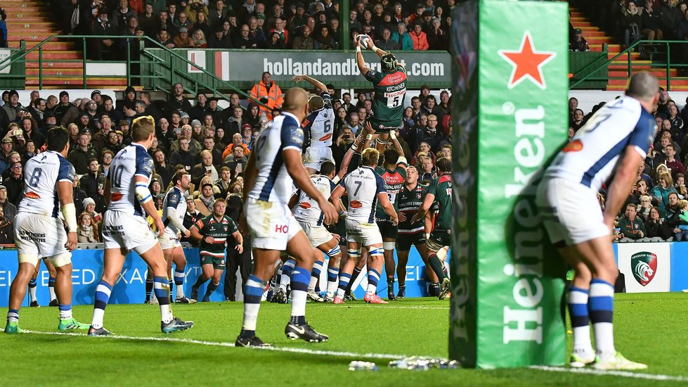 European Cup rugby returns to Welford Road for a 22nd season during 2018/19