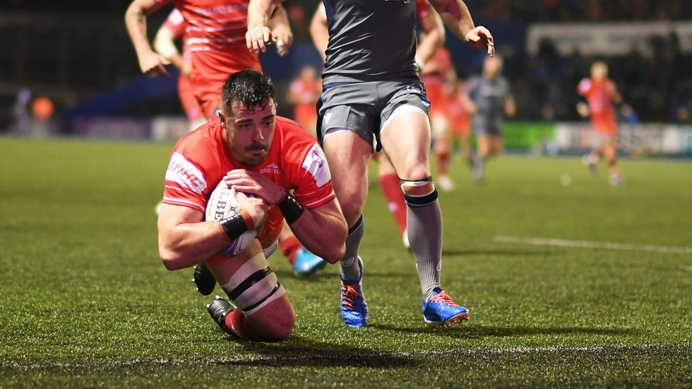 Jordan Coghlan's try in Cardiff was among the key moments in the pool stages