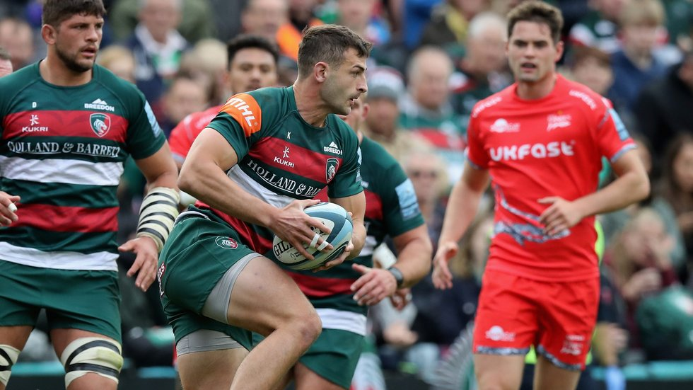 Jonny May returns to the England line-up after sitting out the victory over Japan last weekend