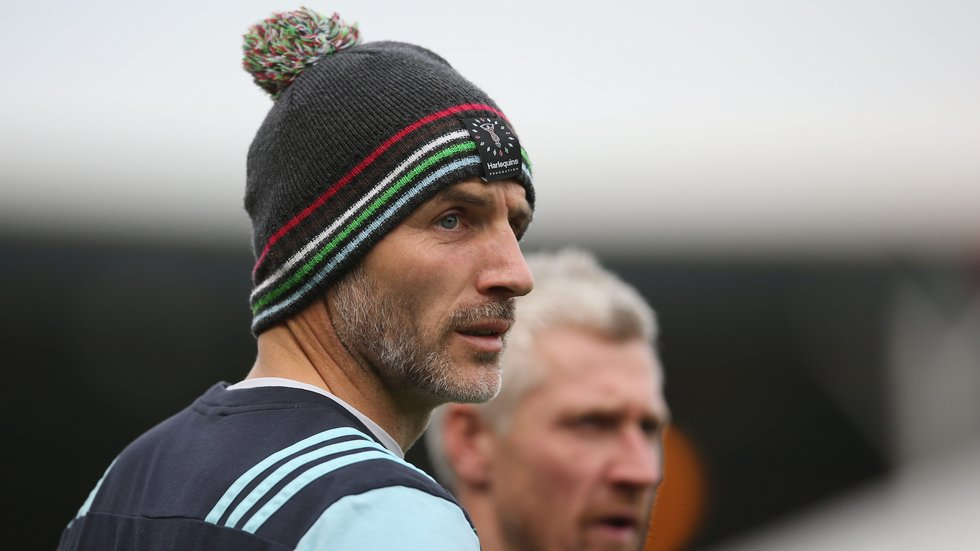 Paul Gustard returns to Welford Road this weekend in charge of Harlequins