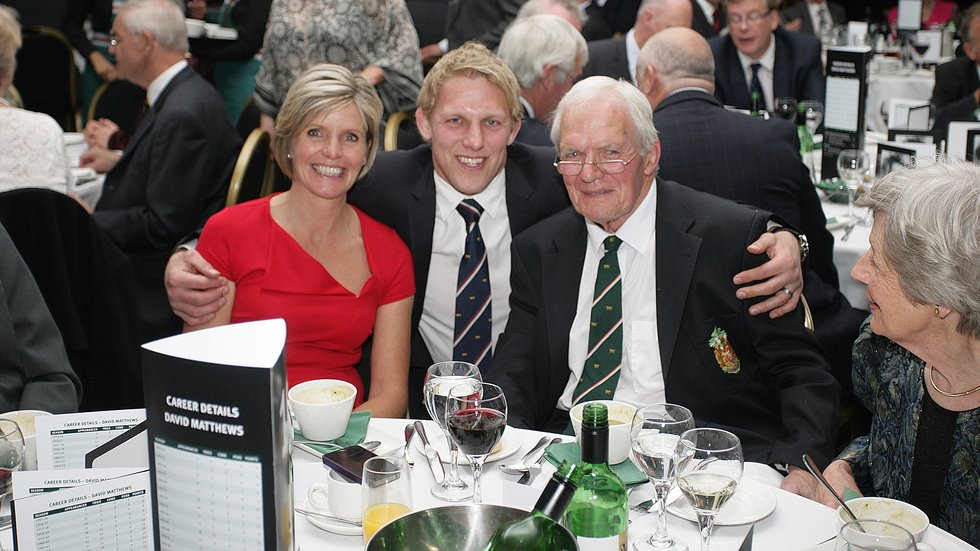 Lewis Moody followed the same route as David Matthews from Oakham School into the Leicester Tigers team