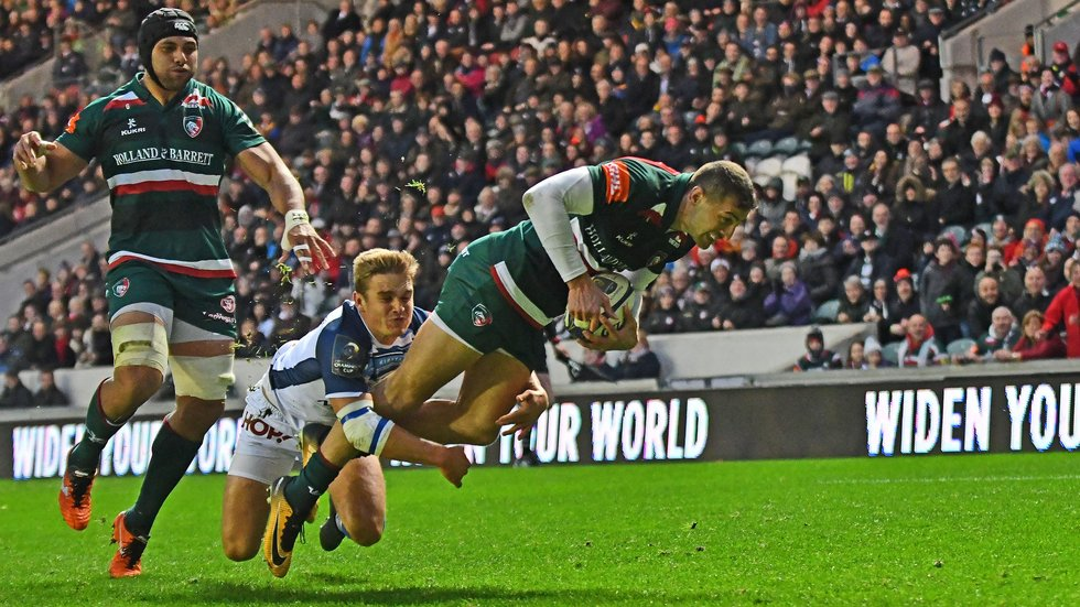 Jonny May is named on the wing for the return to European Cup action this weekend