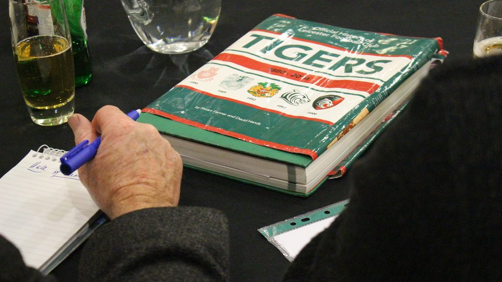 A well-thumbed copy of the Tigers History Book came in handy for the Hall of Fame committee