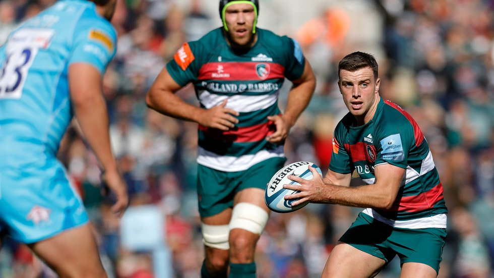 George Ford is included in a 30-man England squad ahead of the third Test of the autumn