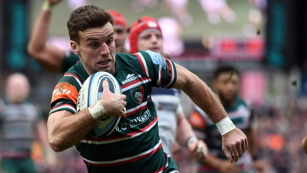 Flty-half George Ford retains his place in the England squad