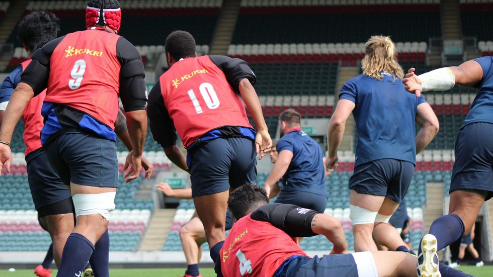 Tigers warm up for the new season with a preparation fixture against London Irish on Friday evening