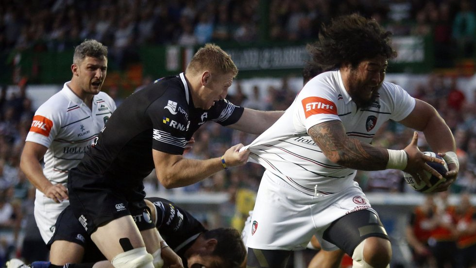 There can be few better sights than Logovi'i Mulipola on the charge - unless you're a defender of course