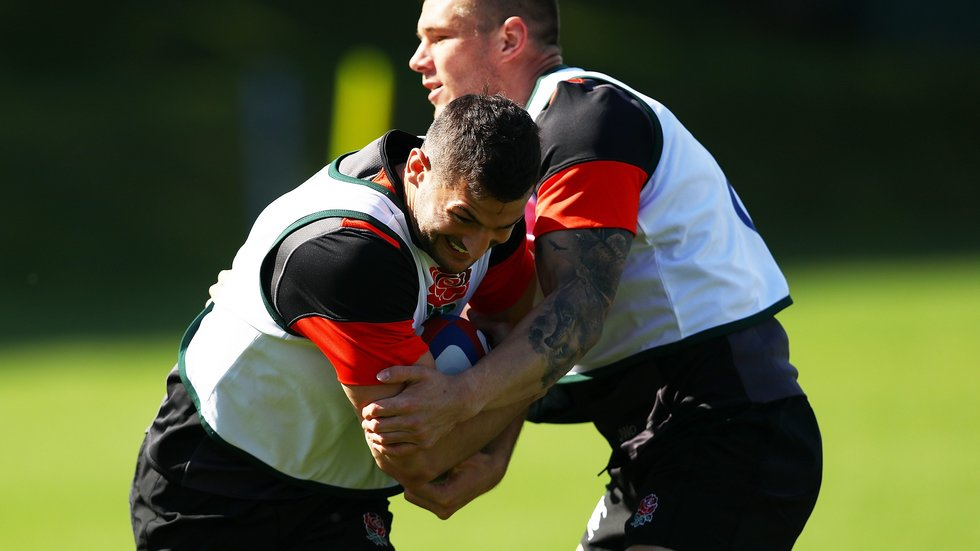 Jonny May is one of five Tigers players in camp