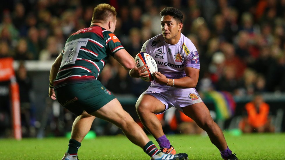 Heyes started in the bonus-point win over Exeter at Welford Road last time out.