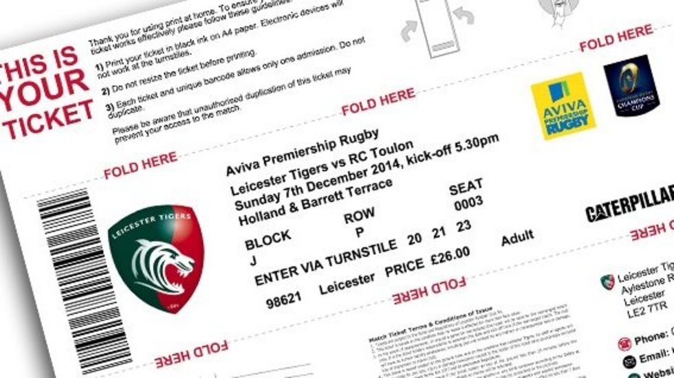 Print At Home Tickets