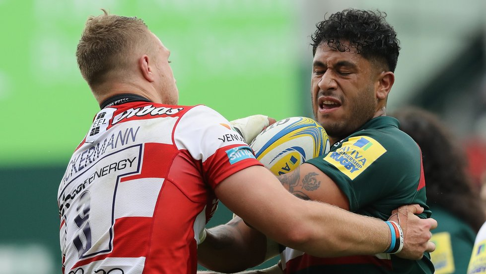 Valentino Mapapalangi made his Tigers debut against Gloucester on Saturday