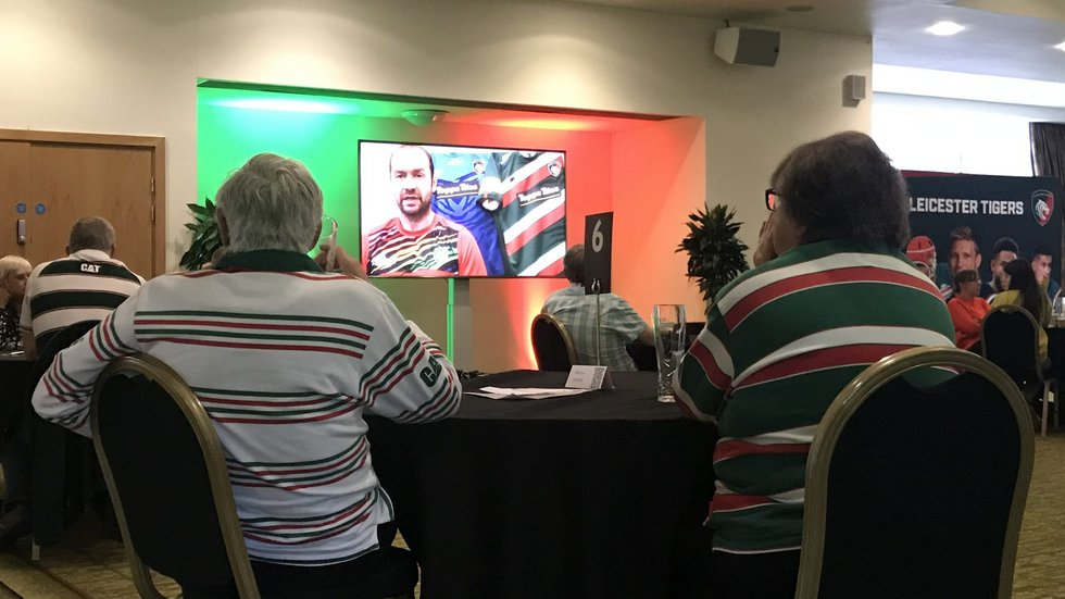 ...as supporters received exclusive insight from within the Tigers camp.