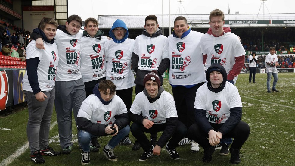 The team from Market Harborough made seven catches on a chilly afternoon