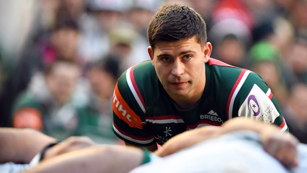 Youngs made a first club appearance of the season at Welford Road earlier this month.