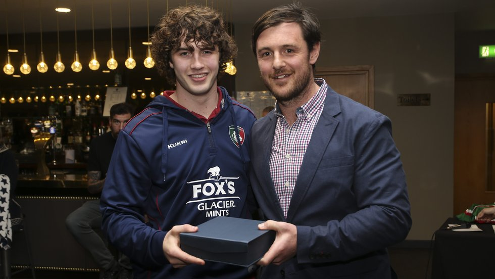 Ollie Ashworth was named Players' Player of the Year and received the award from Matt Smith