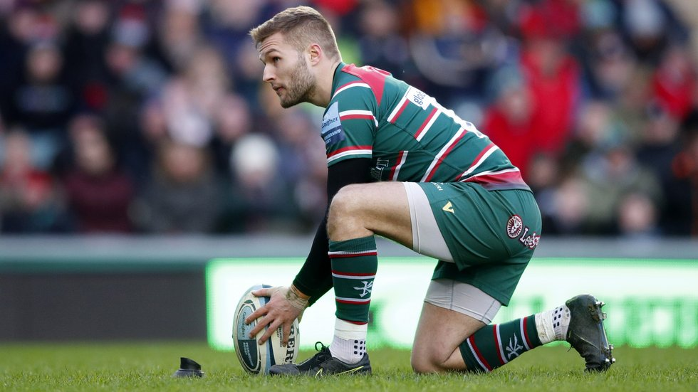 Johnny McPhillips starts at fly-half for the first time in the Premiership
