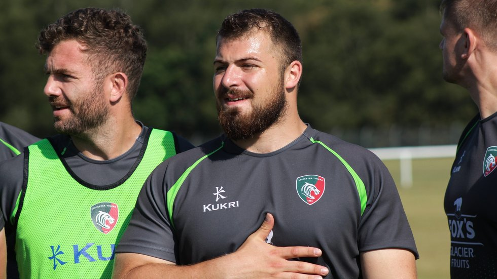 Front-rower Osman Dimen has been honing his skills at Birmingham Moseley.
