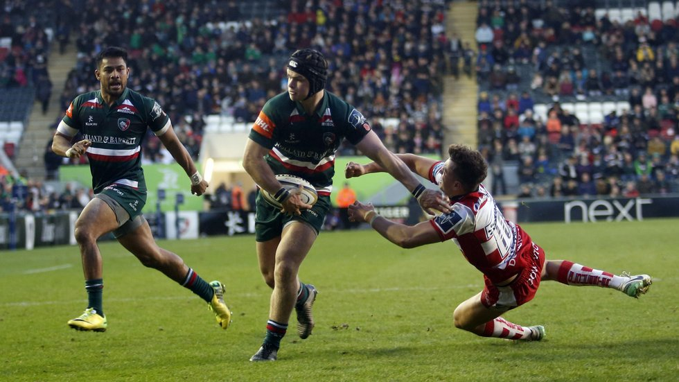 Tigers beat Gloucester in the opening home game of this season's Anglo-Welsh Cup