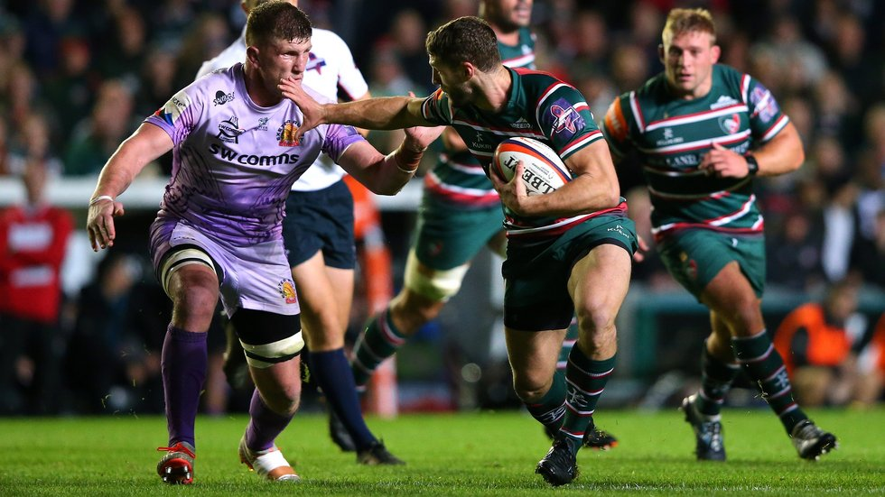 ...before Tigers return to Welford Road for a Cup clash with Northampton Saints.