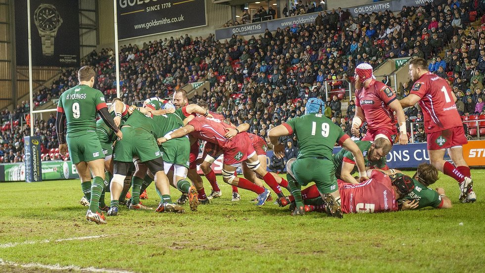 Scarlets make the trip to Welford Road for a third time in their European Cup history