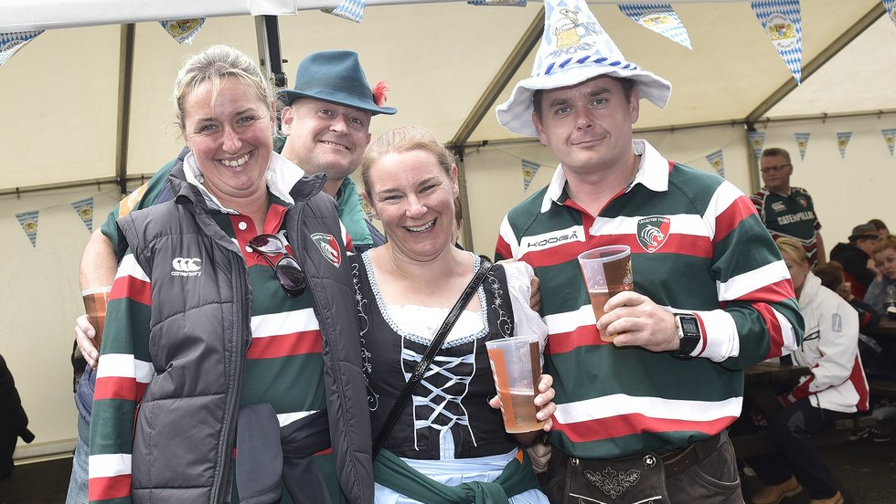 Join the party on matchdays at Welford Road