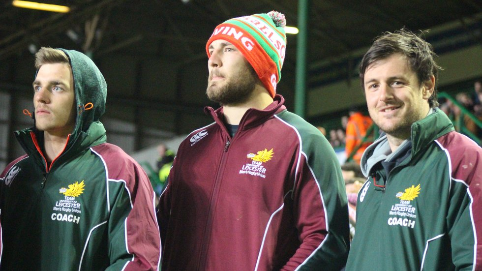 Wells coached UoL to Varsity success alongside Tigers team-mates Ben White and Matt Smith.