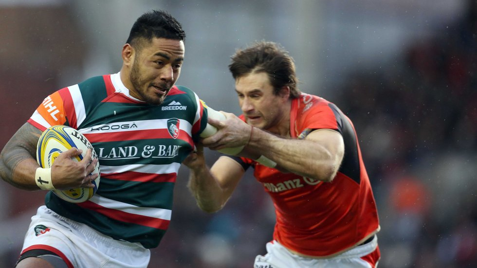 Manu Tuilagi has not played since suffering a knee injury in January