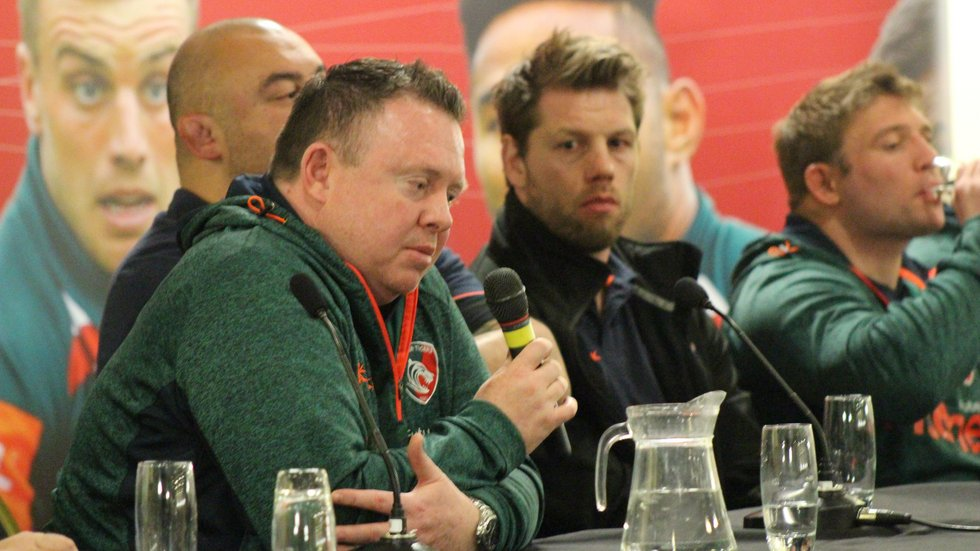 Enjoy an opportunity to hear from behind the scenes at Welford Road