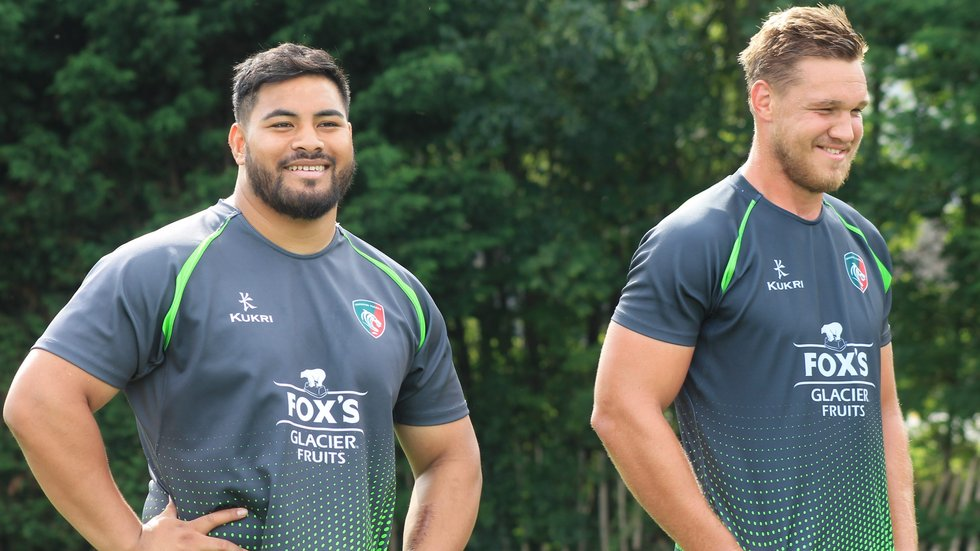 Nephi Leatigaga is in line for his first outing as a Leicester Tigers player