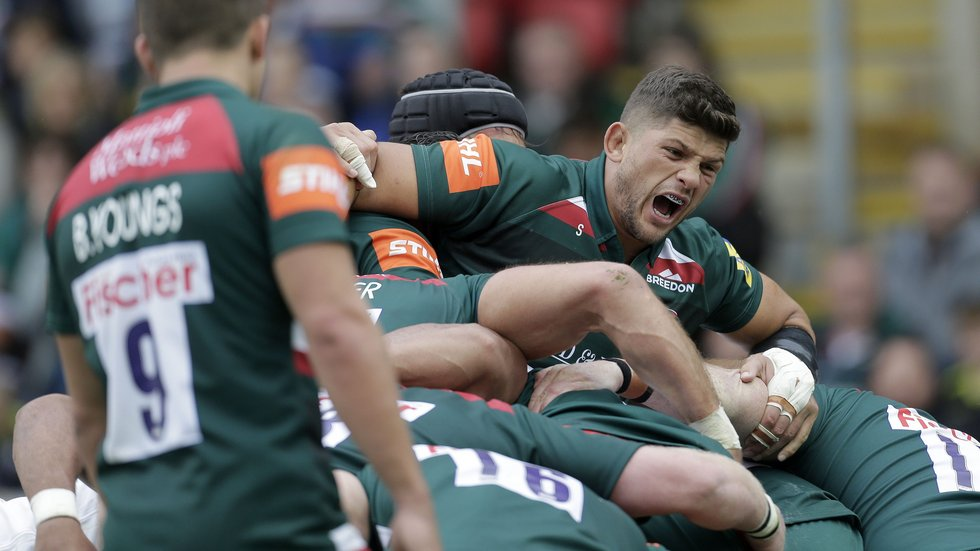 Matt Toomua, Telusa Veainu and Dan Cole re-sign with Leicester Tigers