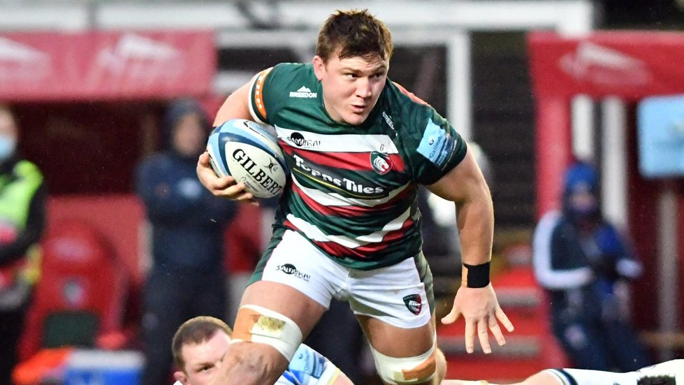jasper Wiese is a powerful presence in attack and defence from the back row