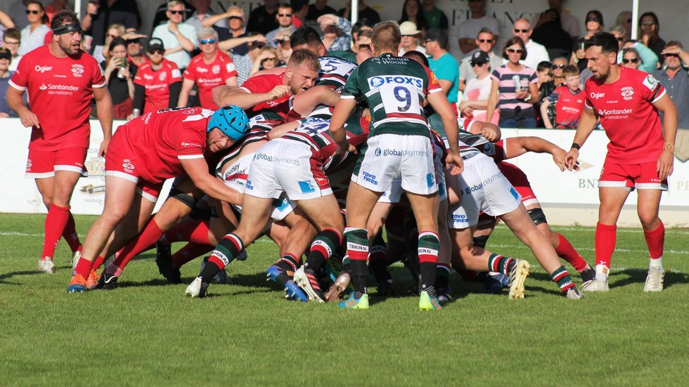 The pre-season programme began with an outing against Jersey Reds