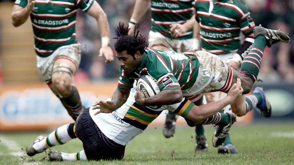 The late Seru Rabeni in action for Tigers during the 2006/07 campaign