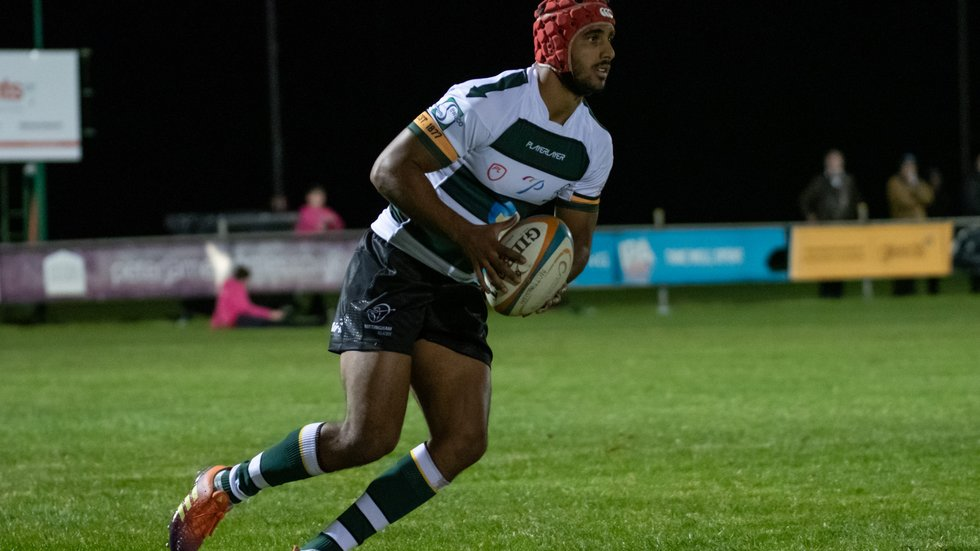 Kyran Bungaroo shifts from full-back to the left wing in Nottingham colours.
