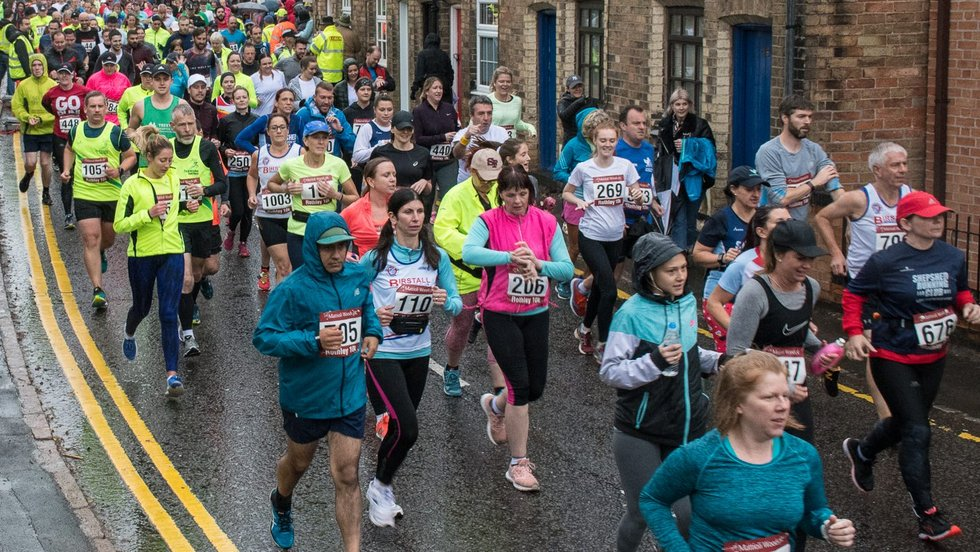 Hundreds of runners took to the streets of Rothley for the annual 10k.
