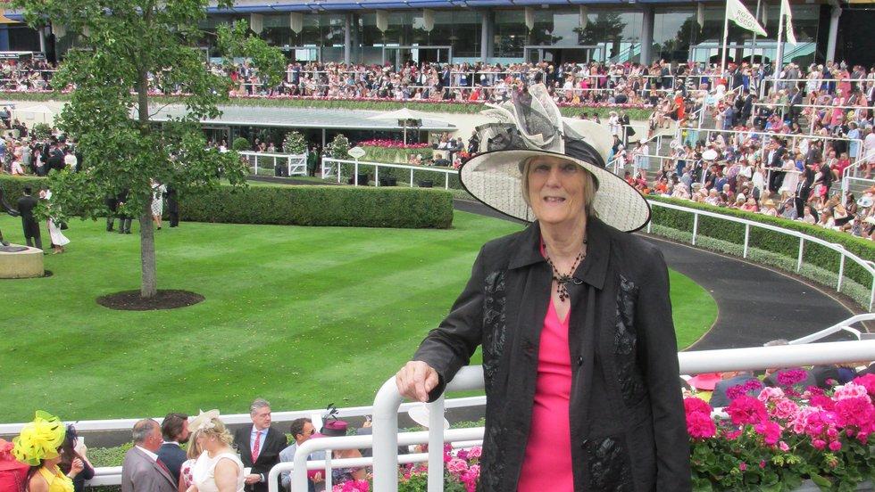 Mega Draw winner Moira Tipping takes a look at the Royal Ascot parade ring