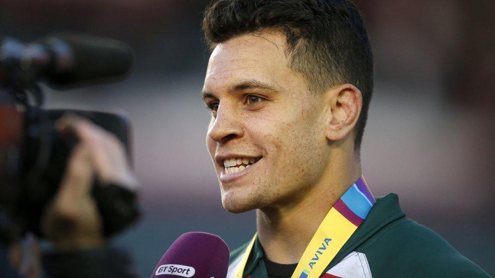 Matt Toomua was also named Aviva Man of the Match by the BT Sport commentary team