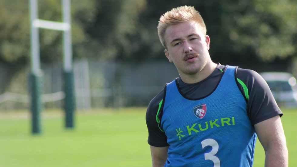 The young tighthead retains his place in the starting XV for Saturday's trip to Bath.