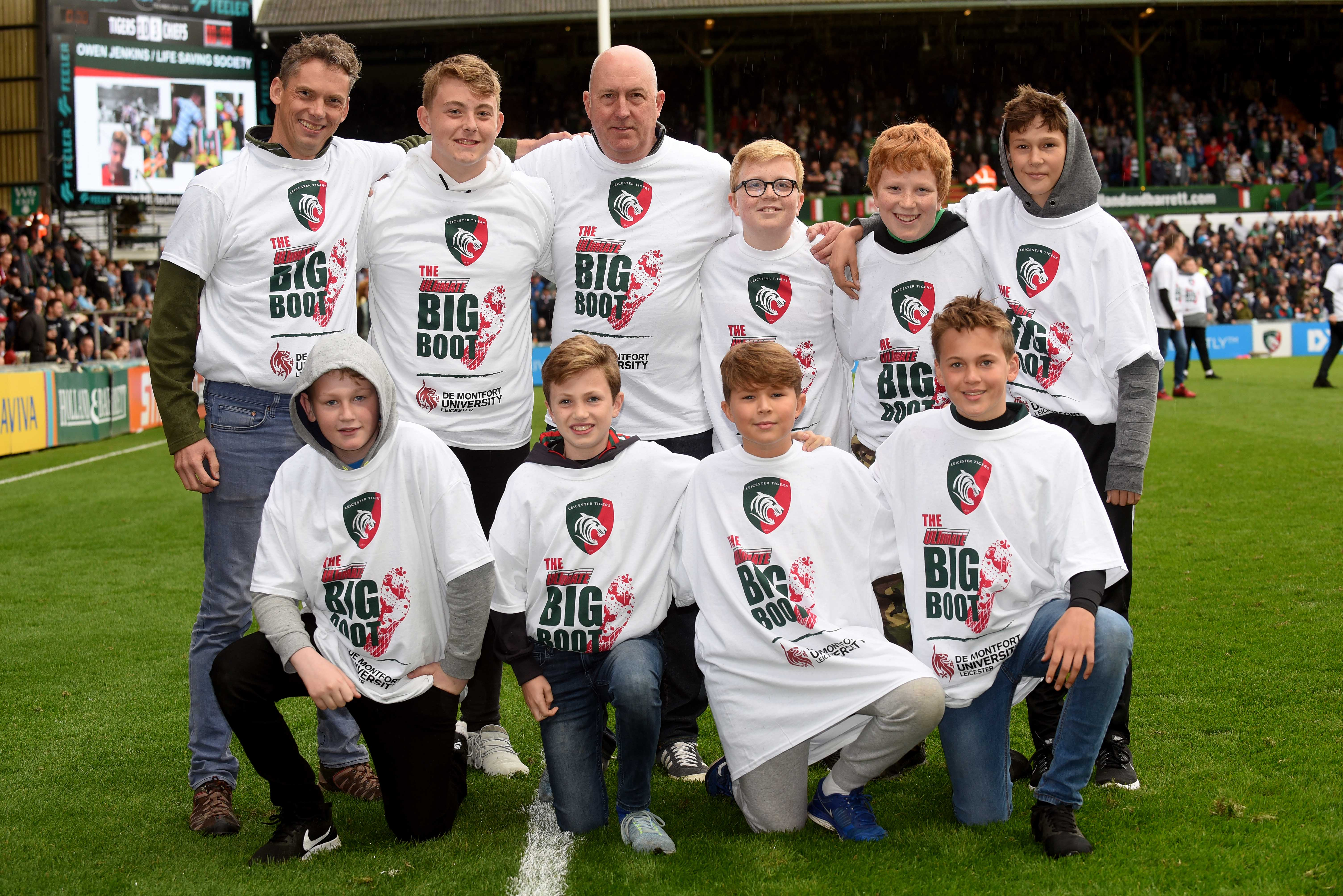 Organise a fun day out with a group of friends and family at Welford Road!